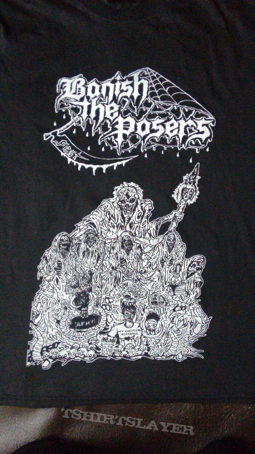 Banish The Posers Fest 2014 Gig T-shirt