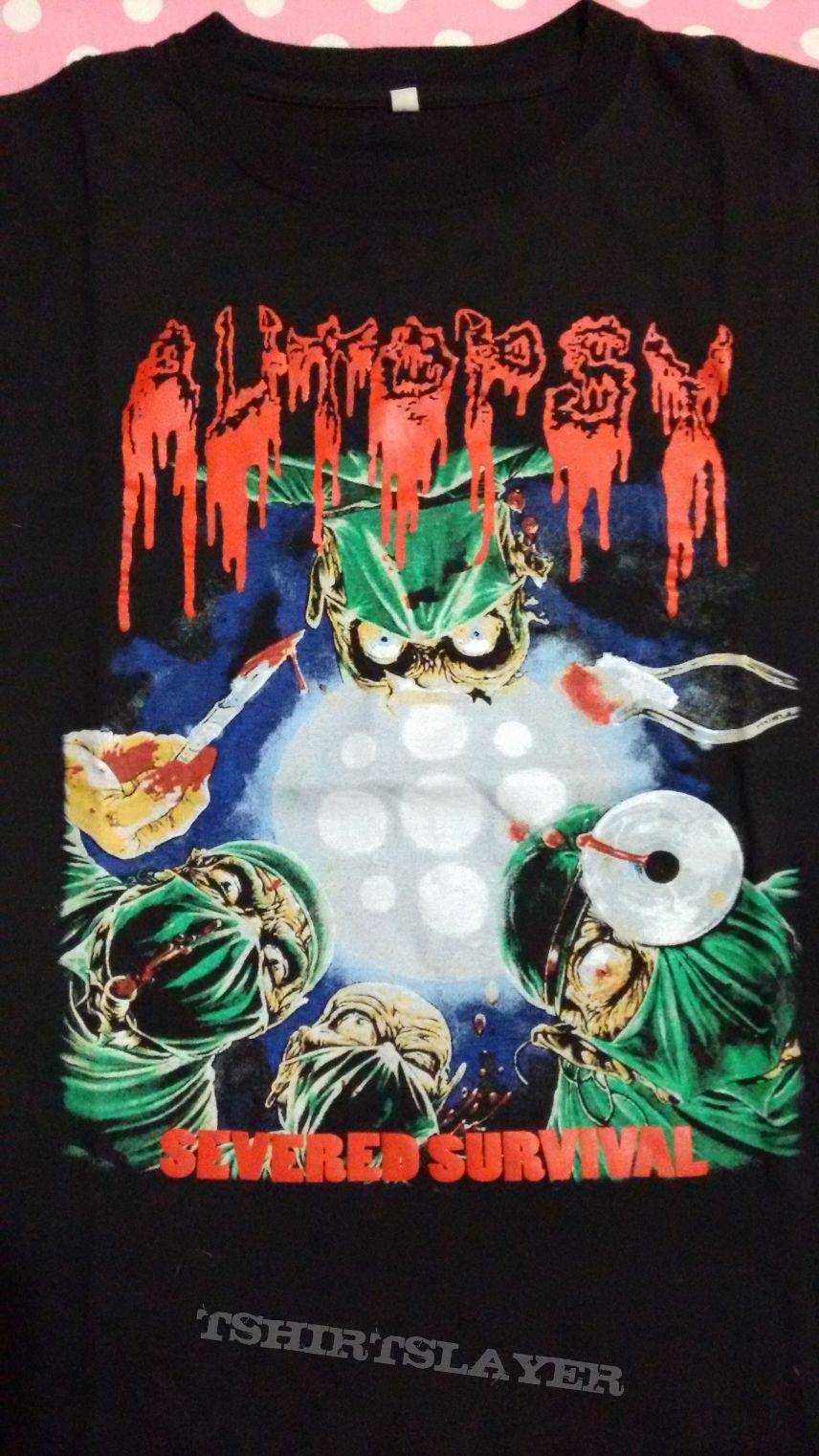 Autopsy - Severed Survival t-shirt