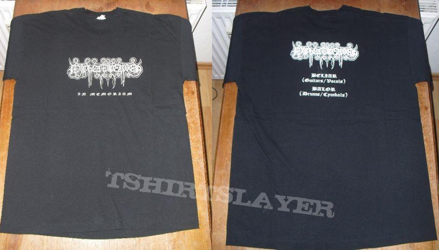 """mayhemic truth """"in memoriam"""" shirt"""