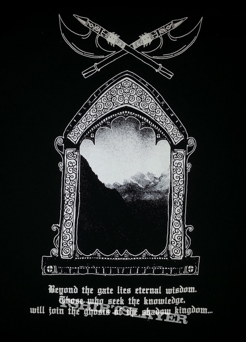 "old tower ""spectral horizons"" shirt"