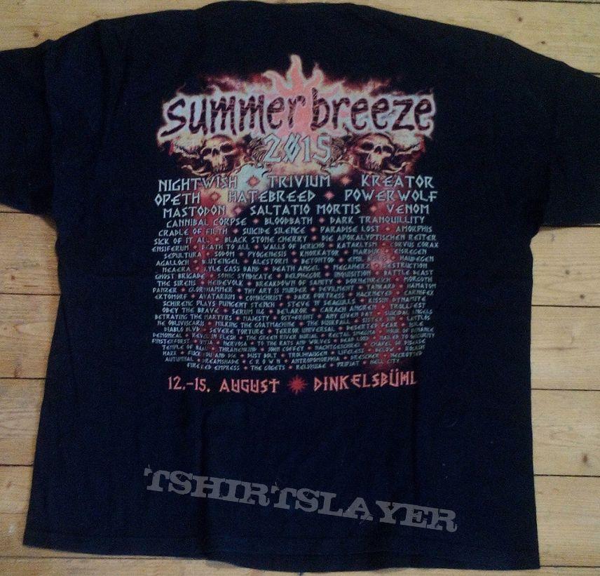 Summer Breeze 2015 Festival - Limited Edition - Shirt