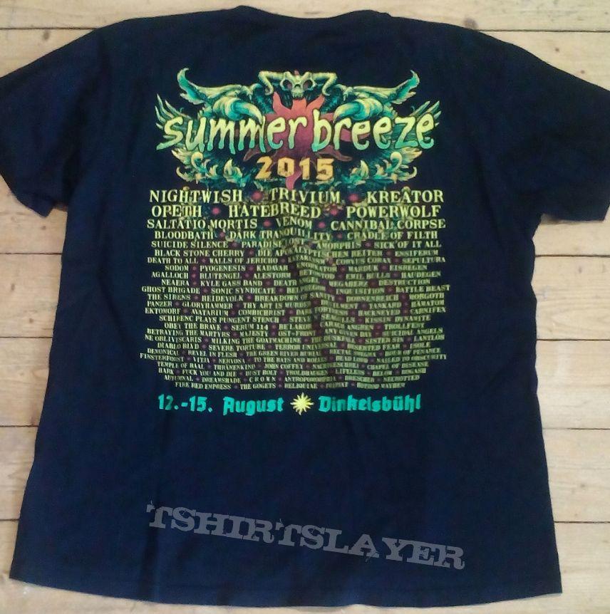 Summer Breeze 2015 Festival Shirt