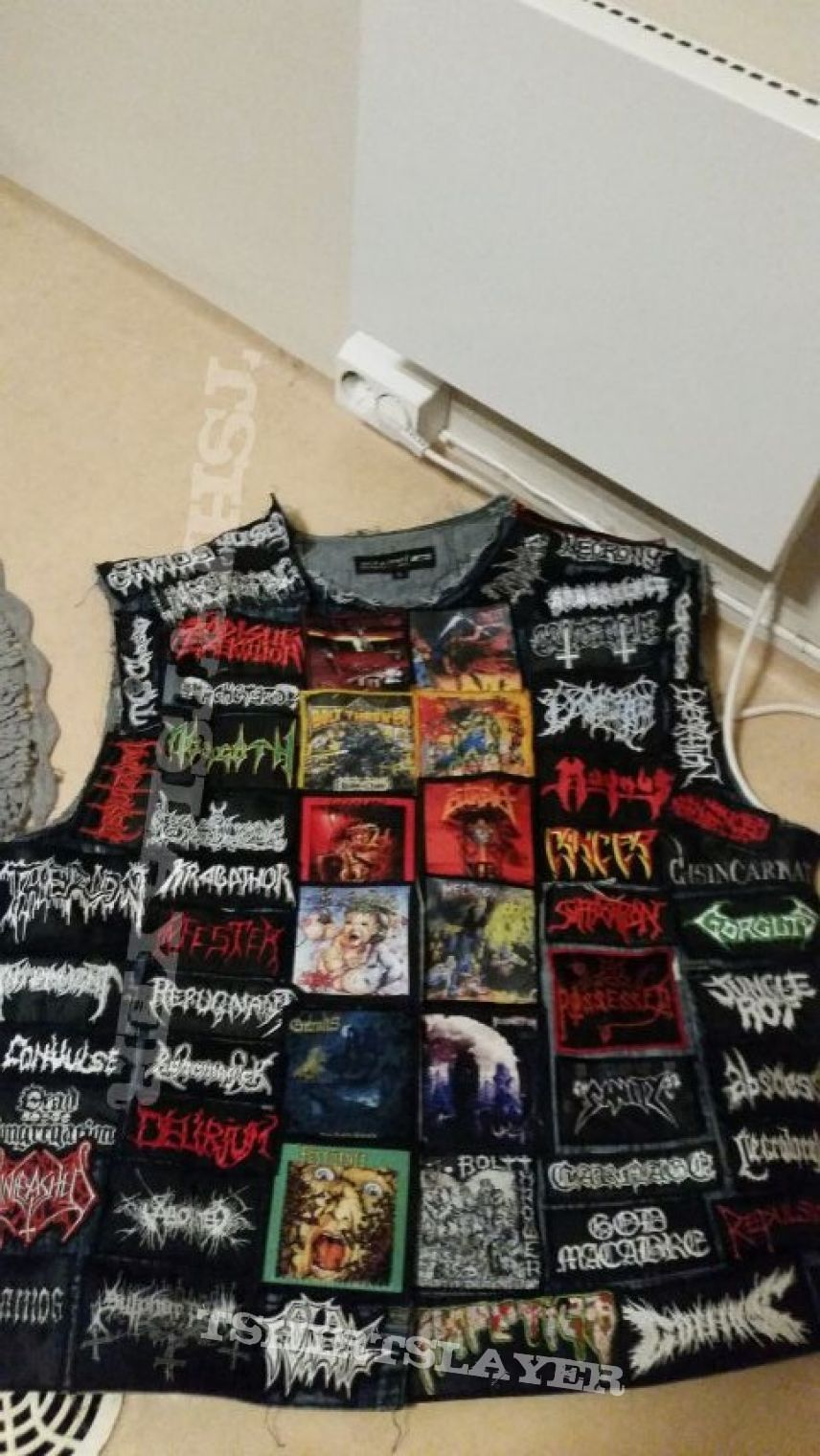 Death metal jacket UPDATED