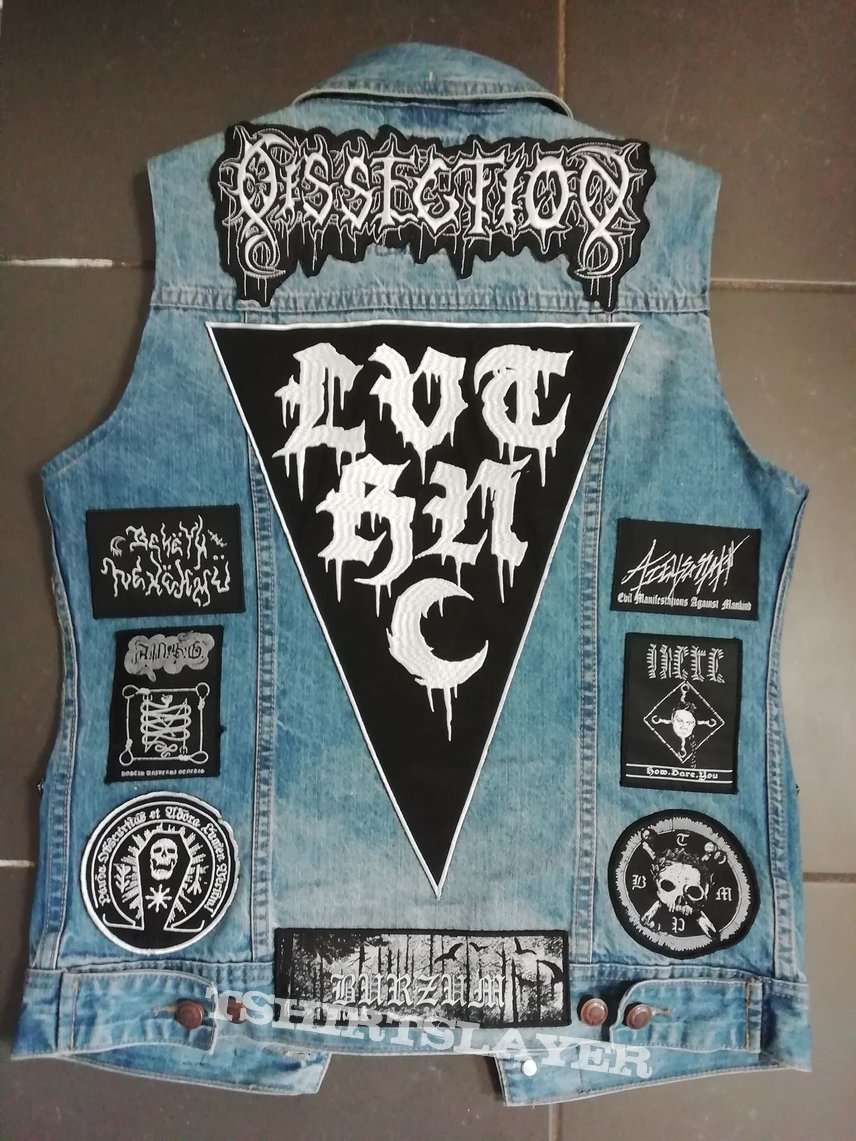 Black metal vest - UPDATED