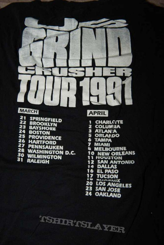 Napalm Death tour shirt