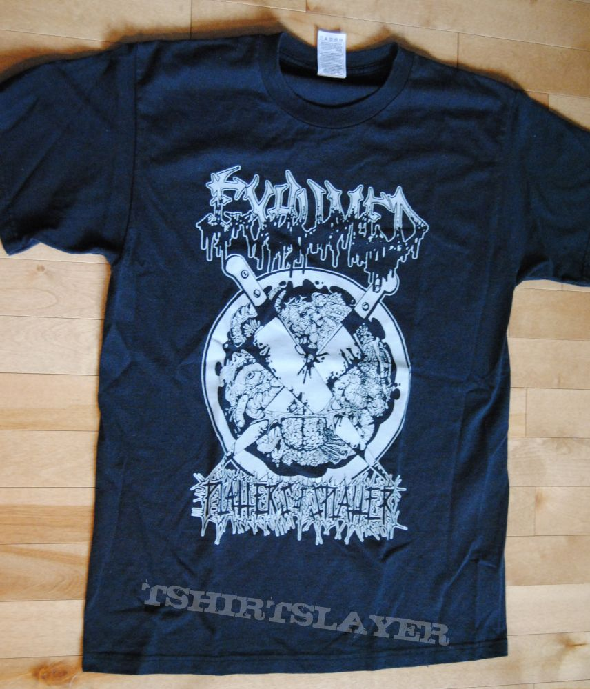 Exhumed-Platters of Splatter shirt