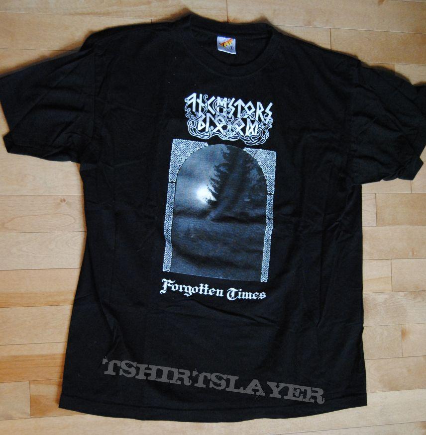 Ancestors Blood-Forgotten Times tshirt