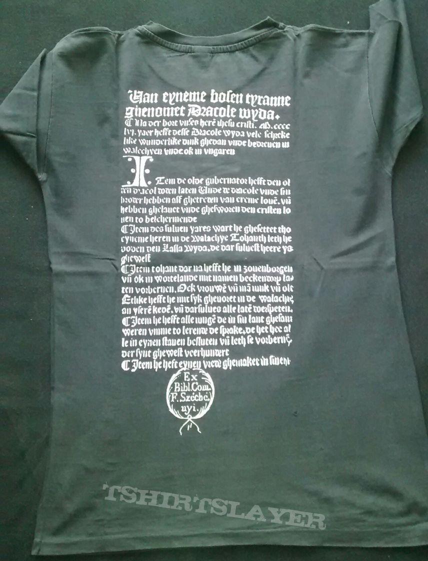 """Marduk """"Dracul Va Domni"""" shirt"""