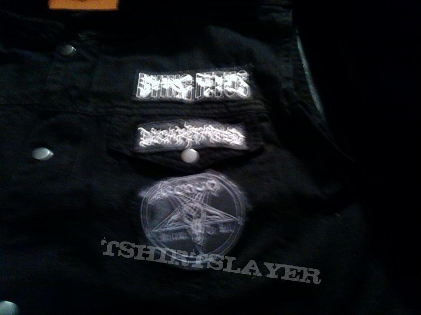 My First battle jacket (work in progress)