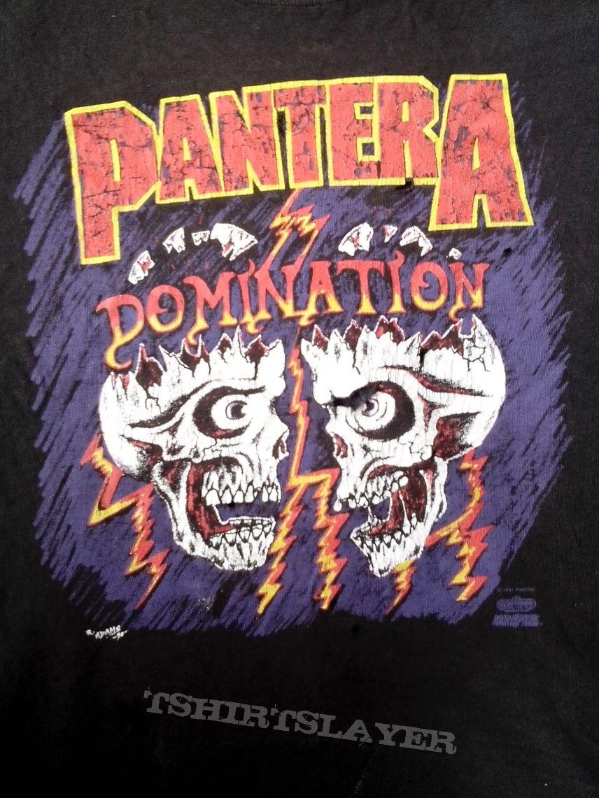 pantera domination shirt