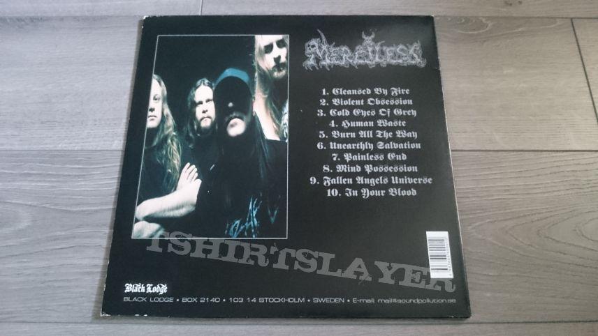 """Merciless - Merciless 12"""" Blue Vinyl"""