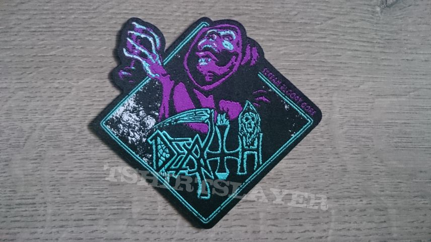 Death - Scream Bloody Gore Shaped Patch