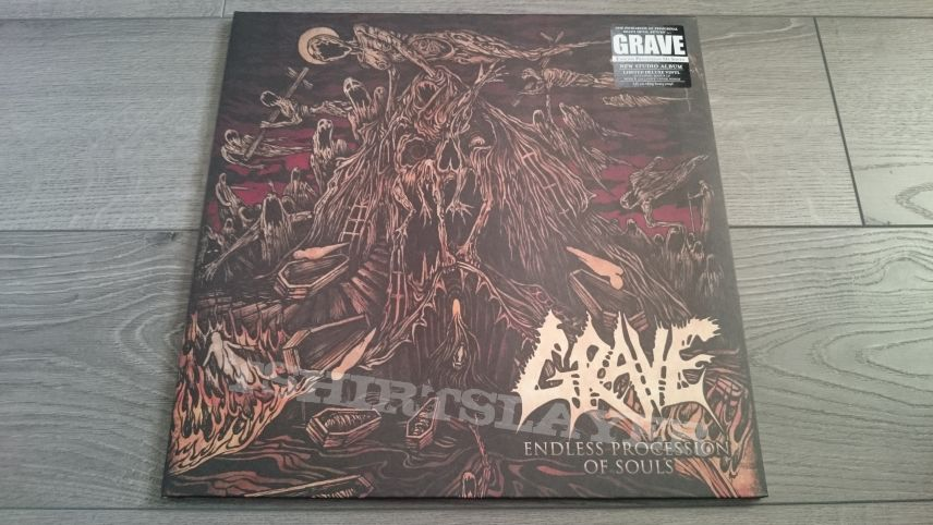 "Grave - Endless Procession Of Souls 2x12"" Green Vinyl"