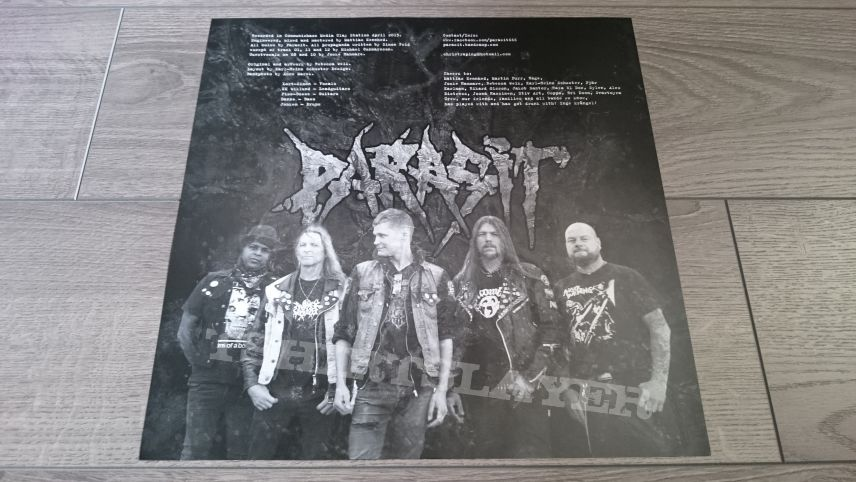 "Parasit - A Proud Tradition Of Stupidity 12"" Vinyl"