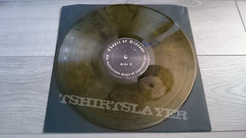 "Chapel Of Disease - The Mysterious Ways Of Repetitive Art 12"" Yellow / Black Vinyl"