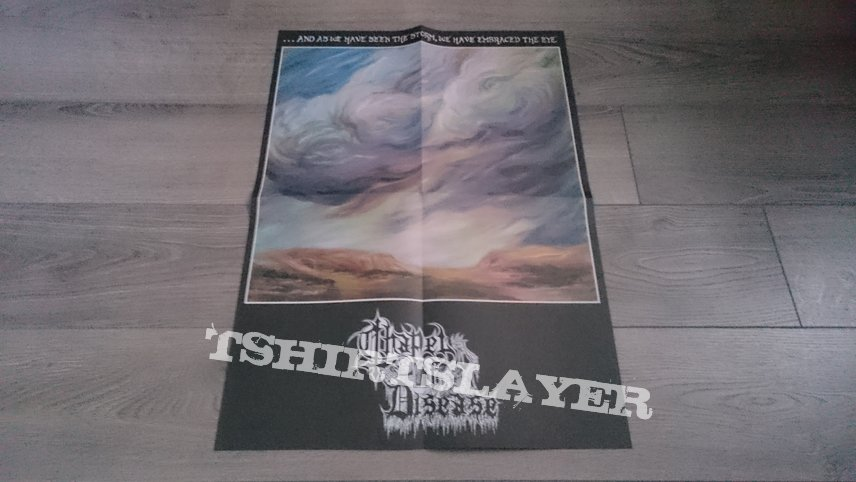 "Chapel Of Disease - ...And As We Have Seen The Storm, We Have Embraced The Eye 12"" Amber Vinyl + Booklets, CD & 2-Sided Poster"