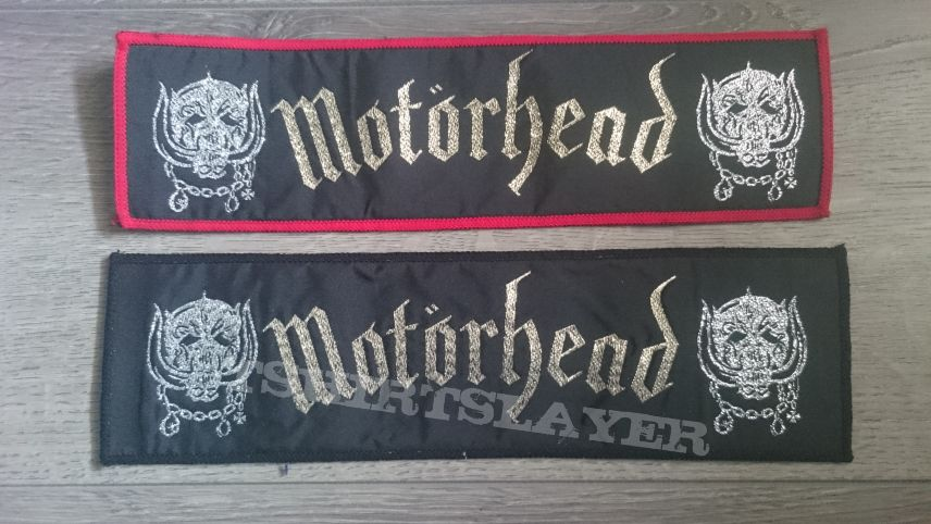 Motörhead - Logo Superstrip Patch (Red & Black Border)