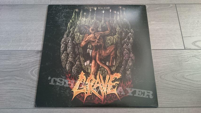 "Grave - Morbid Ascent 12"" Orange Vinyl"