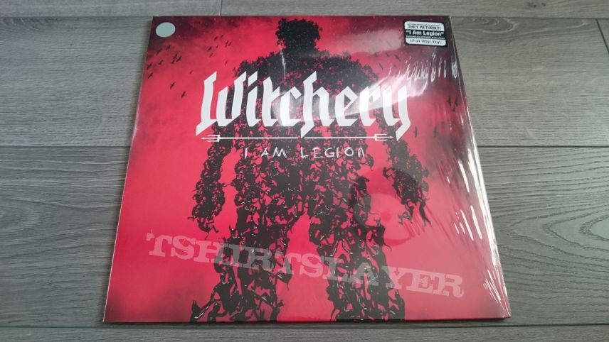 "Witchery - I Am legion 12"" Clear Vinyl"