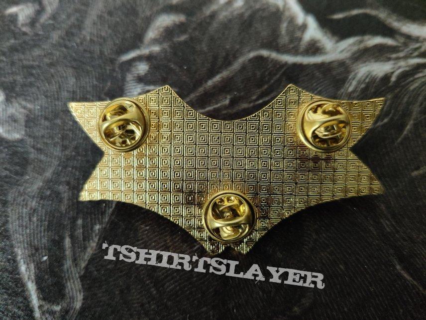 Dismember - Logo / Indecent & Obscene Pin