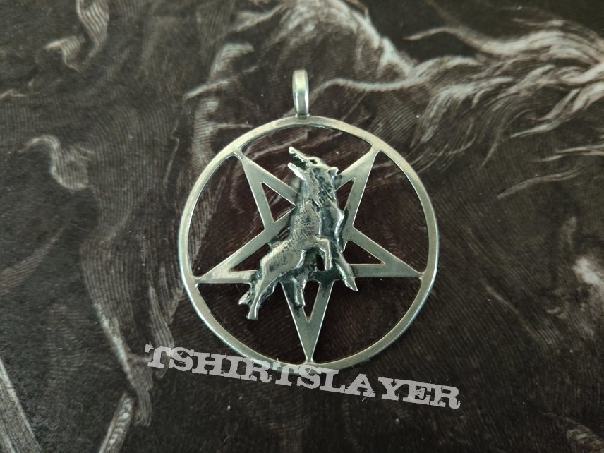 Marduk - Wolf / Pentagram Pendant