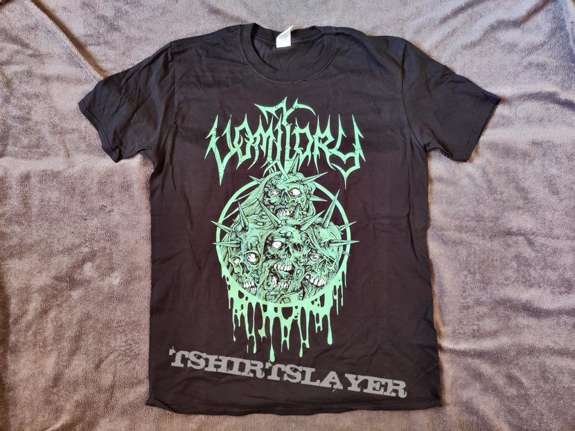 Vomitory - Green Executioner T-Shirt