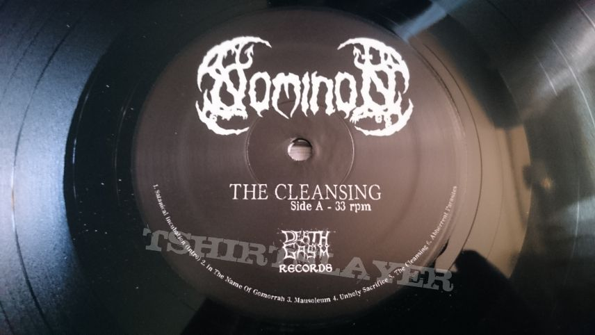"Nominon ‎- The Cleansing 12"" Vinyl"