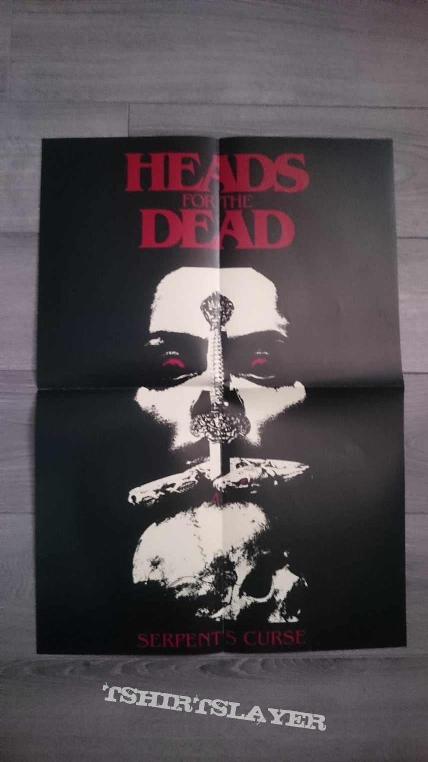 "Heads For The Dead - Serpent´s Curse 12"" Red / Black Splatter Vinyl Box Set"