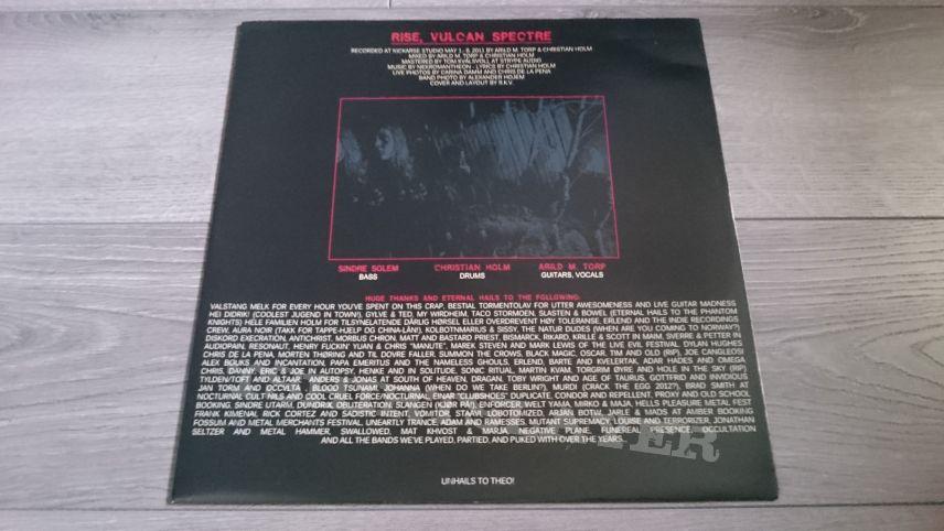 "Nekromantheon - Rise, Vulcan Spectre 12"" Vinyl"