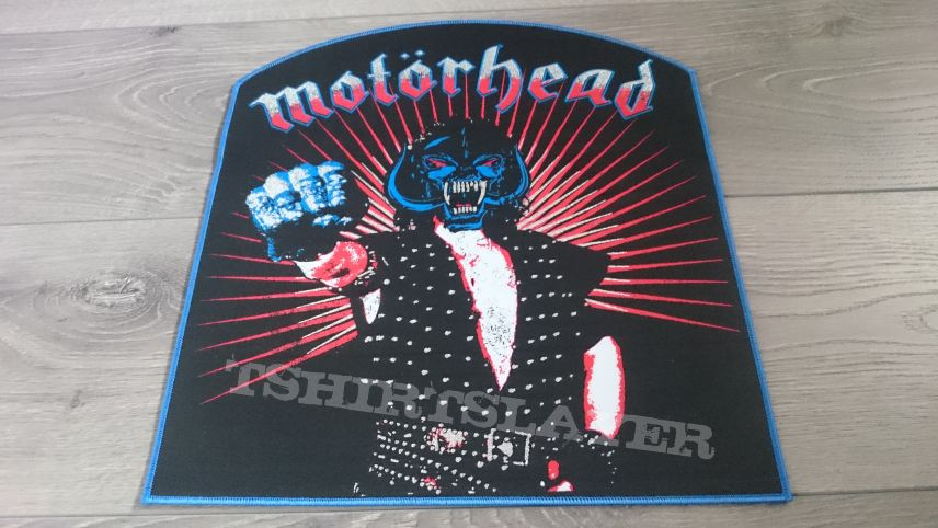 Motörhead - Muerto En La Cruz Back Patch (Blue Border)