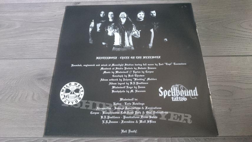 "Winterwolf - Cycle Of The Werewolf 12"" Vinyl"