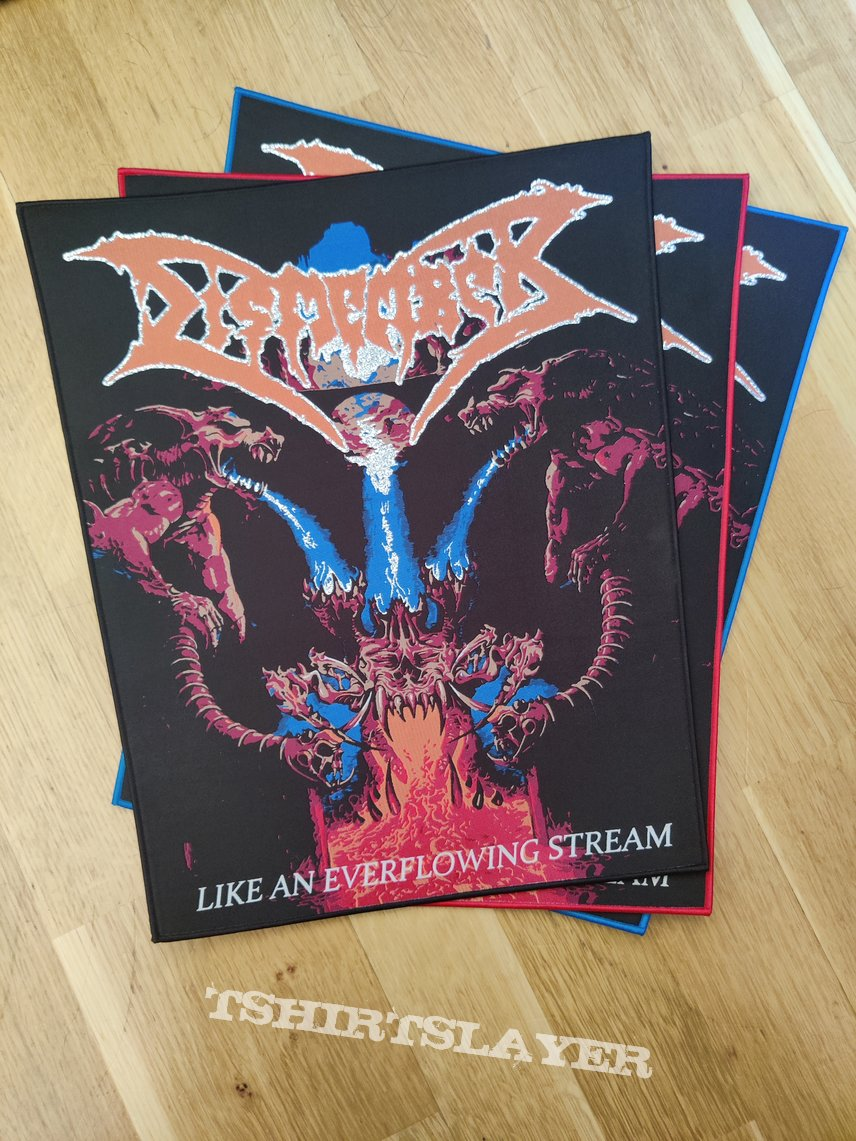 Dismember - Like An Ever Flowing Stream Back Patch (All Borders)