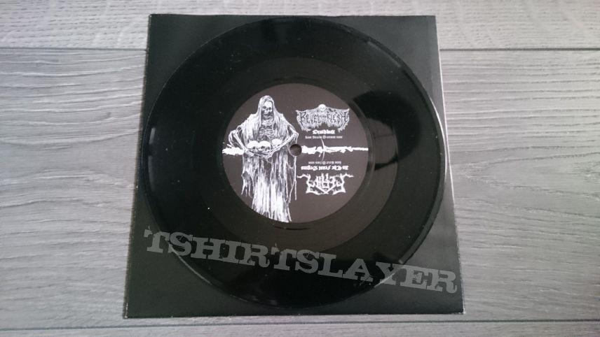 """Revel In Flesh / Feral - The Deathkult EP 7"""" Vinyl"""