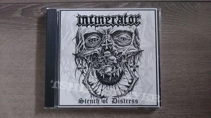 Incinerator - Stench Of Distress CD