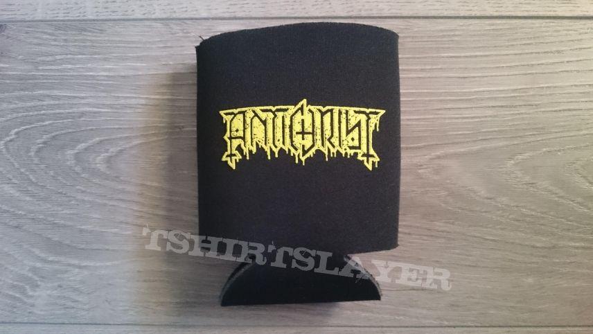 Antichrist - Logo / Skull Beercan Holder
