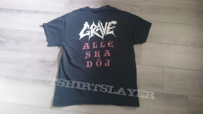 Grave - Anno 1988 / Alle Ska Döj T-Shirt
