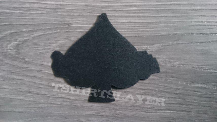 Motörhead - Ace Of Spades / Logo Shaped Patch