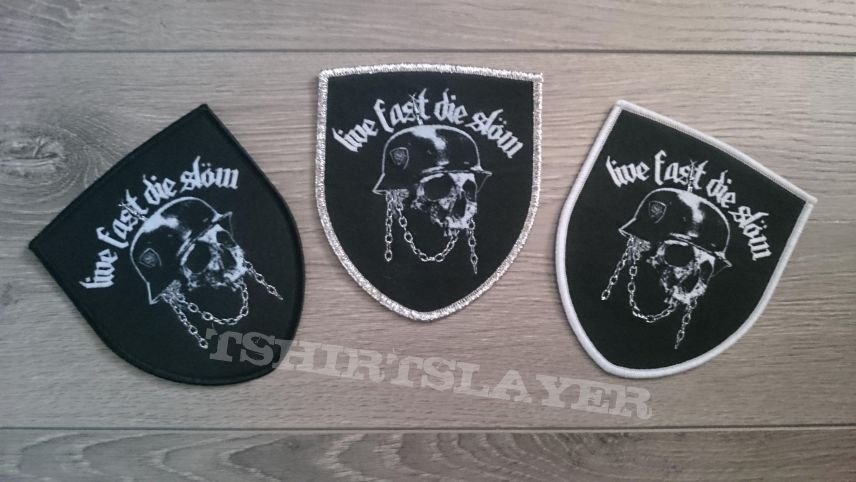 Lemmy - Live Fast Die Slöw Tribute Patch (All Borders)