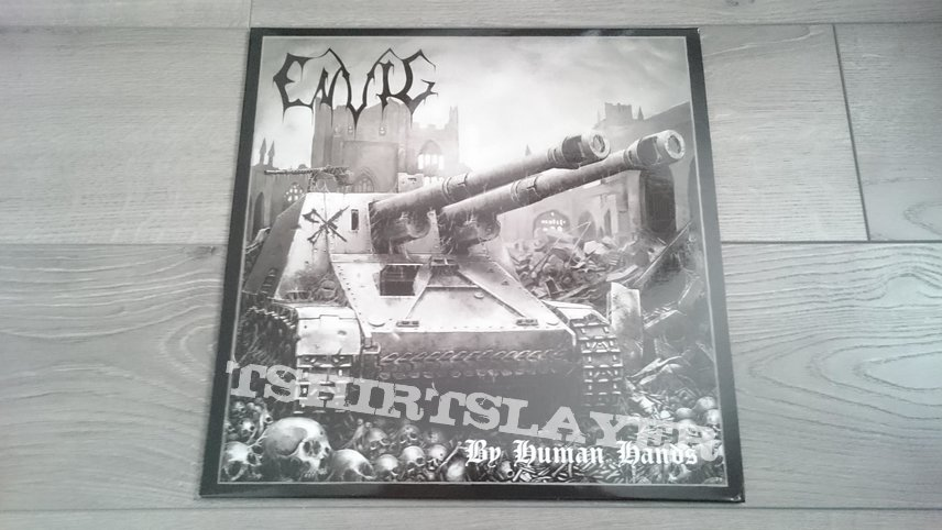 "Envig - By Human Hands 12"" Red Vinyl + Poster & Stickers"