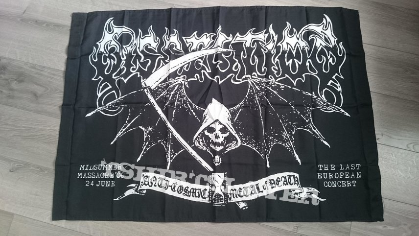 Dissection - Midsummer Massacre ´06 Flag
