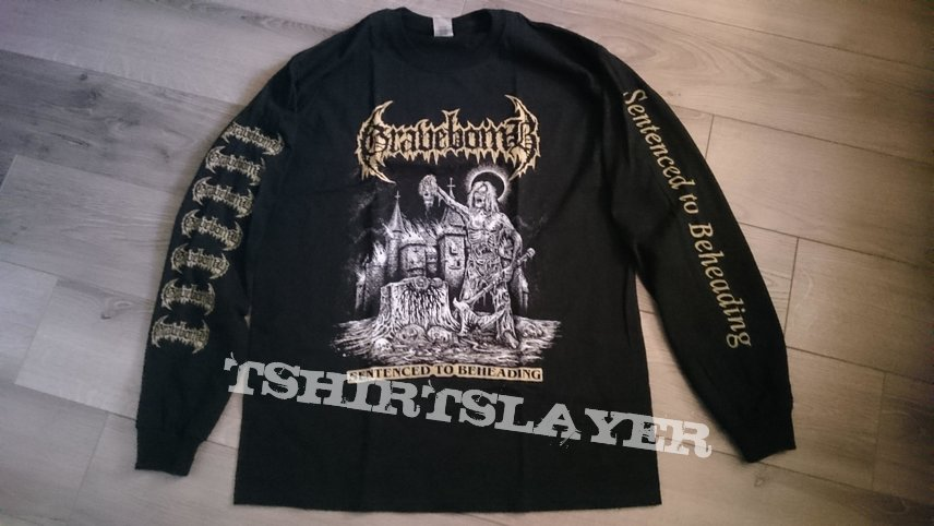 Gravebomb - Sentenced To Beheading / Headless Under The Stone Longsleeve