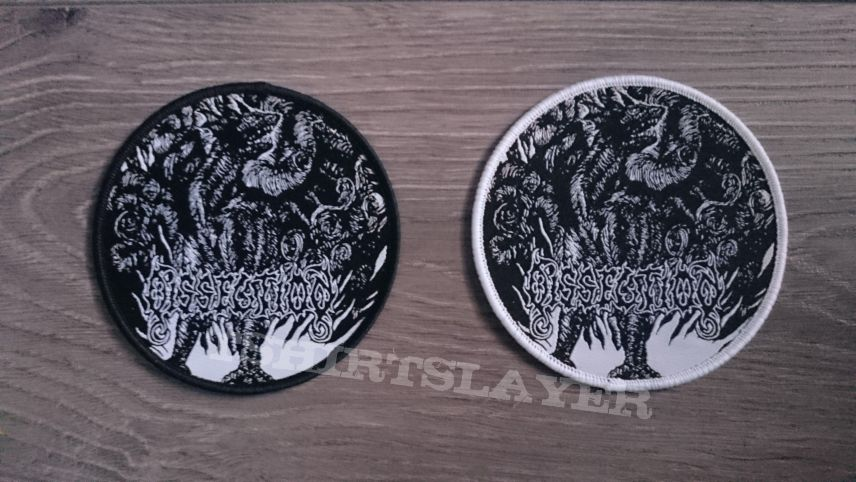 Dissection - Black Dragon Patch (Both Borders)