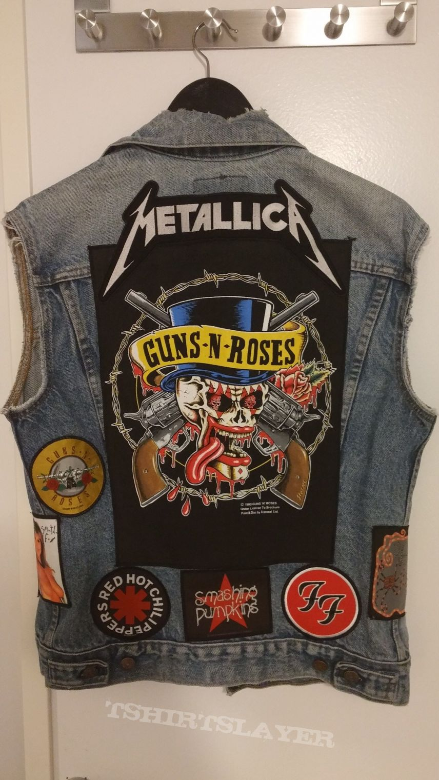 90s patch vest