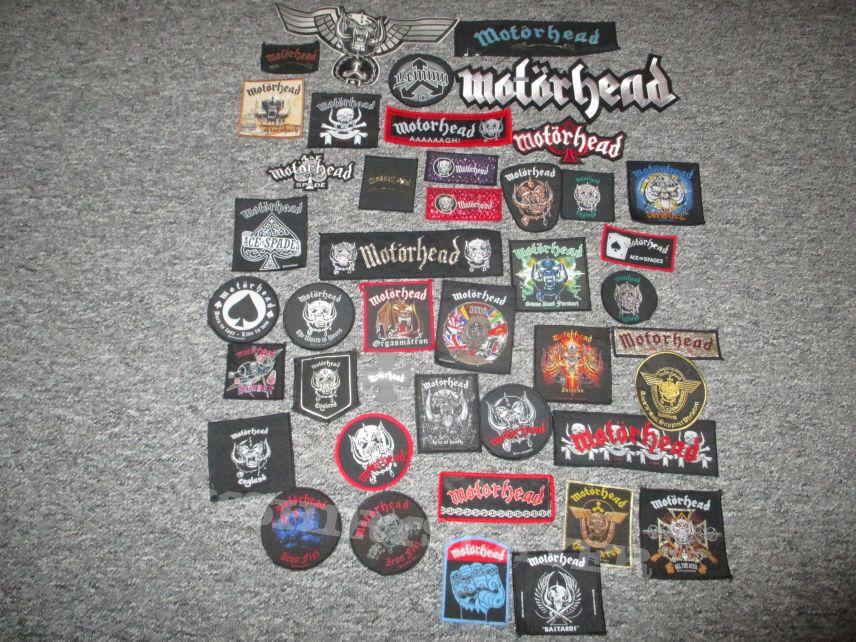 Poldy666's Motörhead, Motorhead patch collection Patch