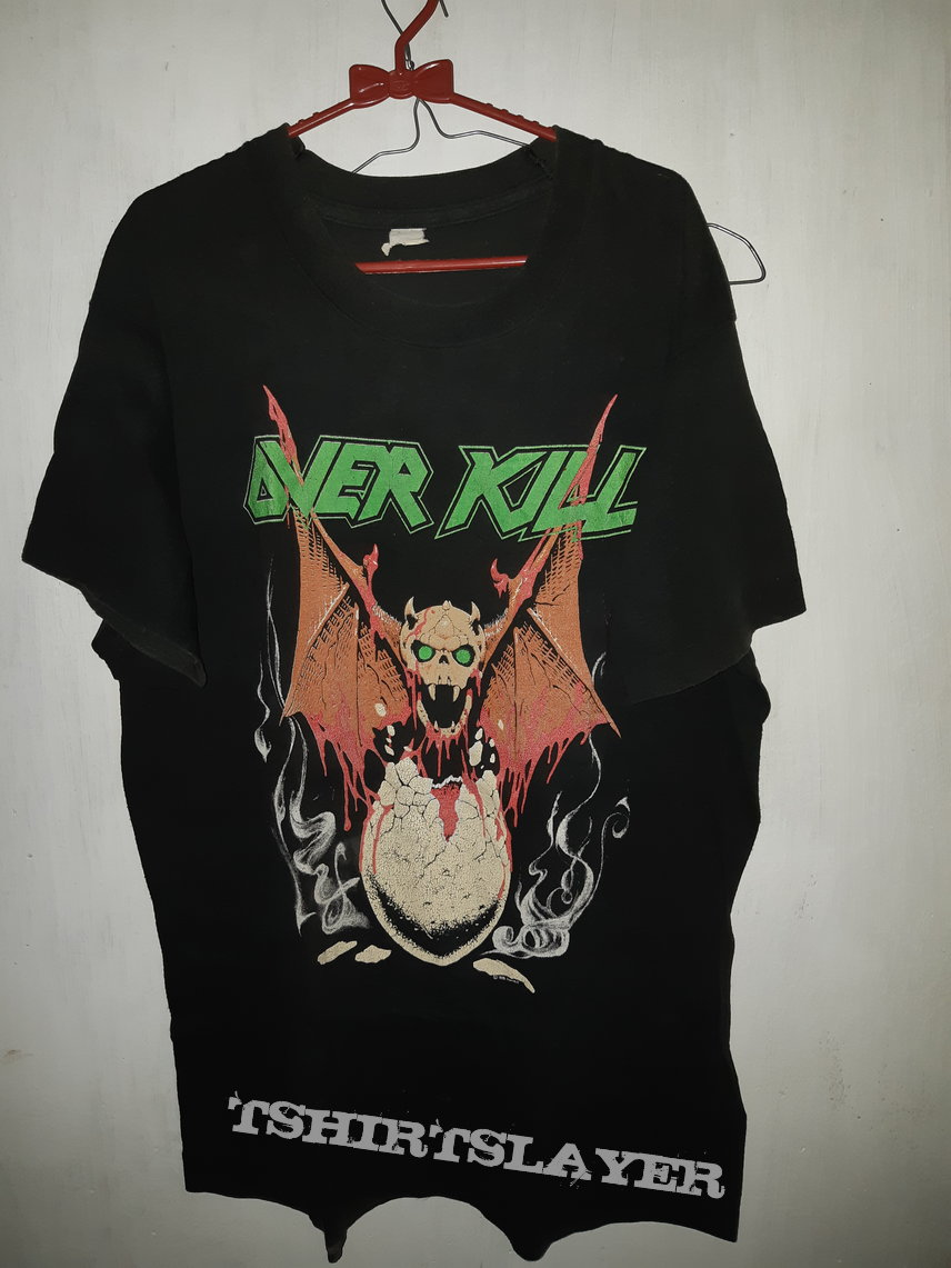 Overkill - Birth of tension World Tour 1990