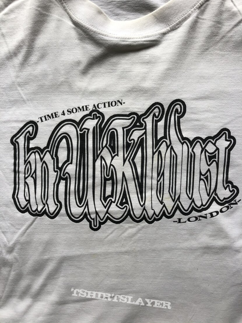 Knuckledust 'Time 4 Some Action' T-Shirt XL