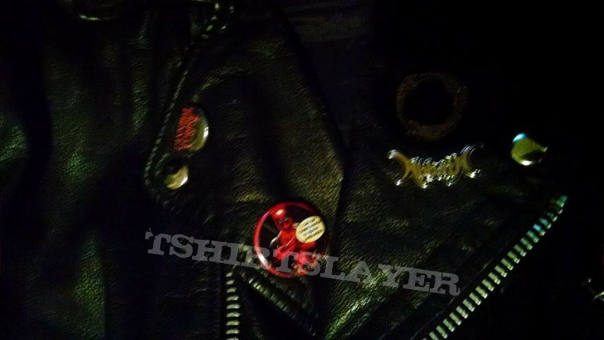 Update on my glow in the dark Leather Jacket