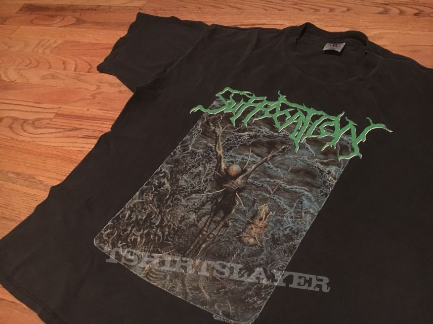 "Suffocation ""Pierced From Within"" t-shirt XL"