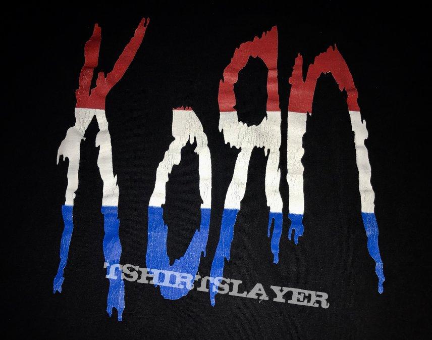 Korn - Follow the Leader 98 Rock Session American Flag Shirt