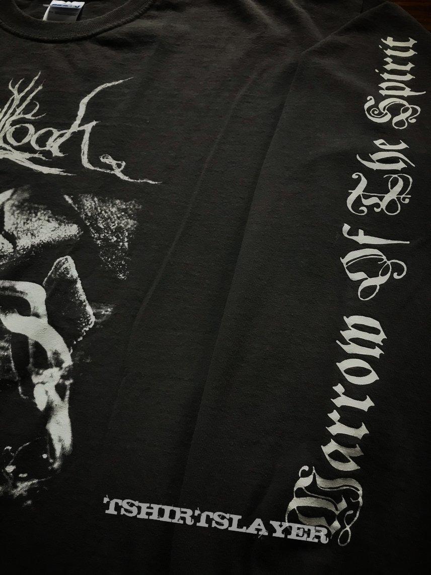 Agalloch - Marrow of the Spirit 2010 US tour shirt XL